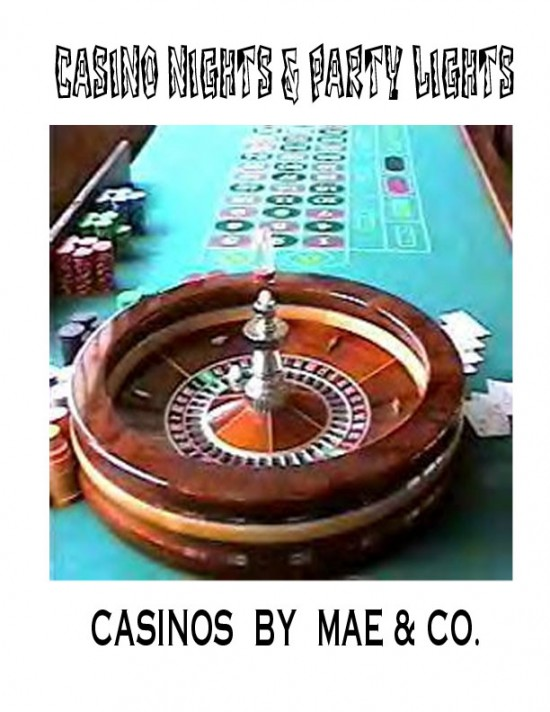 CASINO NIGHTS BY MAE &amp; CO