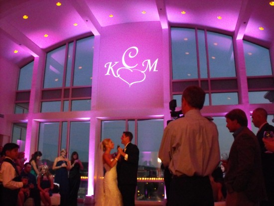 Monogram and Uplighting