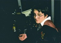 Mykel as Harry Potter