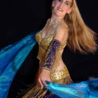 Nina Amaya, Bellydancer - Casino Party in Silver Spring, Maryland