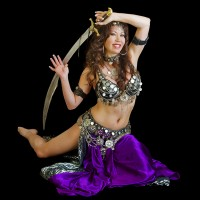 Nabila Oriental Dance - Fire Dancer in Manhattan, New York