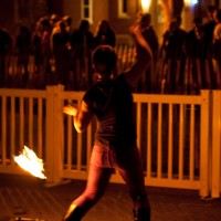 NegativeQ Fire Performance - Fire Dancer in Cape Cod, Massachusetts