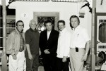 Neil Cacci with the Jordanaires