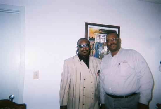James Jr/Mayor Kenneth Johnson/After Foundrsier