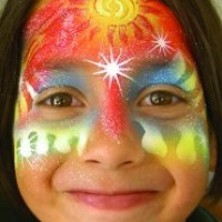 "New School ""Airbrush"" Face Painting - Face Painter in Burlington, Ontario"