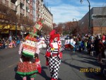 Nica Thanksgiving Parade downtown Silver Spring