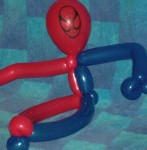 Spiderman Balloon Art