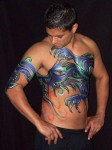 Dragon Body Painting