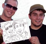 Caricature - Jeff &amp; Ryan