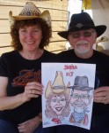 Arizona Bike Week Caricature by Don Evenson