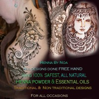 Noa Chaikin - Henna Tattoo Artist in Essex, Vermont