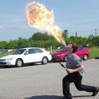 Noah Royak - Fire Eater in Melbourne, Florida