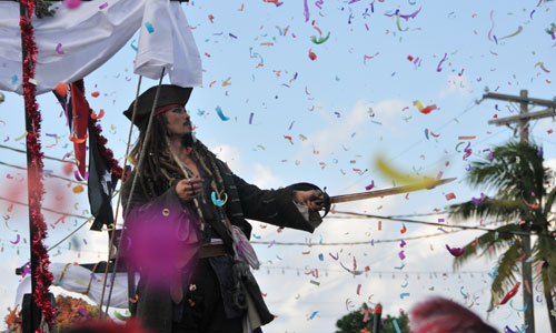 Pirates Week Parade - Grand Cayman Island