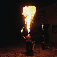 Nova - Fire Performer in La Crosse, Wisconsin