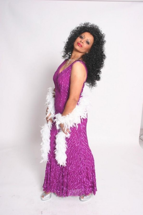 NyAnn as Diana Ross