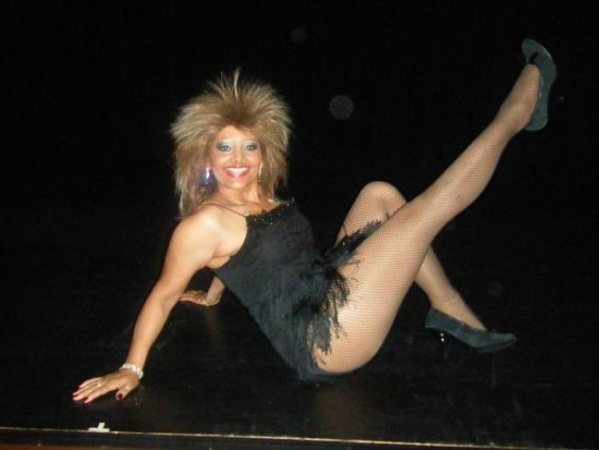 NyAnn as Tina Turner