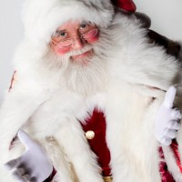Santa Larry Durian - Santa Claus in Lima, Ohio