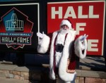 Santa Visiting the Hall of Fame