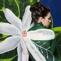 Olive Body Painting - Body Painter in Raleigh, North Carolina