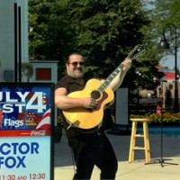A One Man Band (Victor Fox) - Folk Singer in Springfield, Illinois