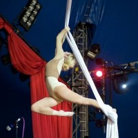 Ooops the Clown - Aerialist in New Orleans, Louisiana