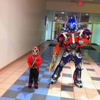 Optimus Prime Costume Character Rental - Children's Party Entertainment in Asheville, North Carolina