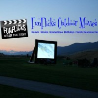 Outdoor Movie Events - Inflatable Movie Screen Rentals in Great Falls, Montana
