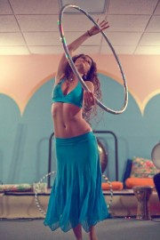 Outward Spiral Hoop Dance