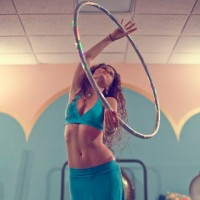 Outward Spiral Hoop Dance - Hoop Dancer in ,