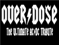 Overdose : The Ultimate AC/DC Tribute - AC/DC Tribute Band in ,