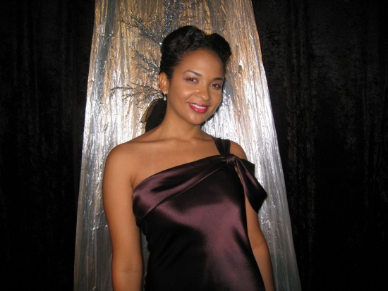 Oya as Lena Horne in Christmas at the Cotton Club Play