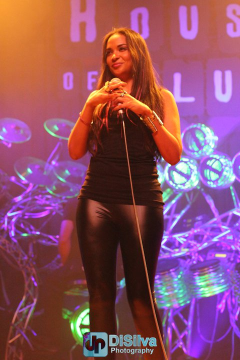 Oya performing at House of Blues with Soul in the Machine