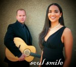 Soul Smile duo Oya - Vocalist and John - Acoustic Guitar