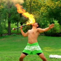 Pacific Rhythm - Fire Eater in Harrisonburg, Virginia