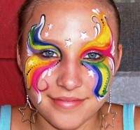 Paint a Pretty Face - Super Hero Party in Orlando, Florida