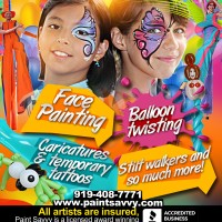 Paint Savvy - Face Painter in Wilmington, North Carolina