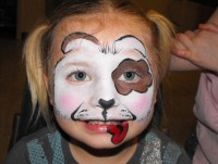 Painted Vail Face and Body Art - Pony Party in Jamestown, New York