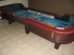 "12"" Craps Table"