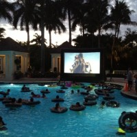 Palm Beach Outdoor Cinema Events - Inflatable Movie Screen Rentals in Hollywood, Florida