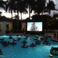 Palm Beach Outdoor Cinema Events - Inflatable Movie Screen Rentals in Pinecrest, Florida
