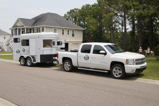 Palmetto Ponies & Pets - The Pony-mobile & Trailer