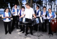 Ian Dobson's Pan Leggo - Merengue Band in Corpus Christi, Texas