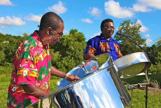 Duo Steel Drum Band