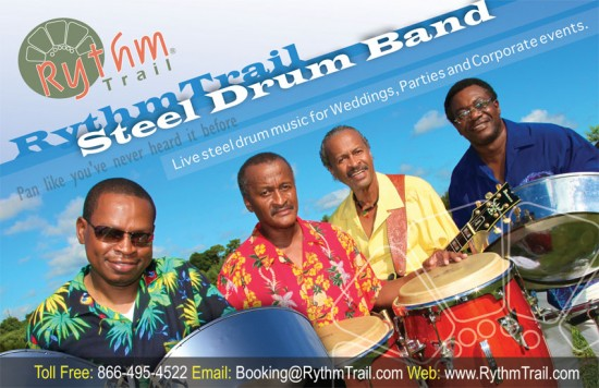 Four Piece Steel Drum Band