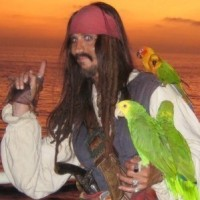 Jack Sparrow Impersonator Entertainer - Reptile Show in Cedar City, Utah