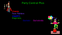 Party Central Plus - Clown in Manchester, New Hampshire