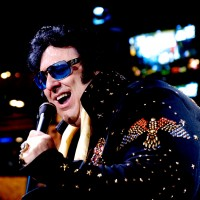 "Pete ""Big Elvis"" Vallee - Elvis Impersonator / 1950s Era Entertainment in Las Vegas, Nevada"