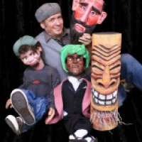 Peter Hefty and Justin - Puppet Show in Kenosha, Wisconsin
