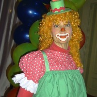 Petunia the Clown - Costumed Character in Fredericksburg, Virginia