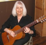Phyllis on Classical Guitar
